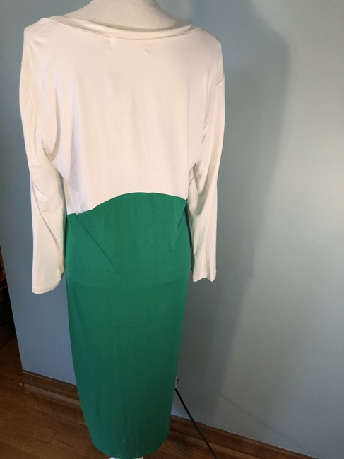 White, green Play Maxi Dress by Sonnet James
