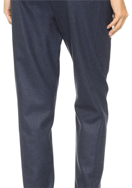 Theory Straight Pants Blue Melange