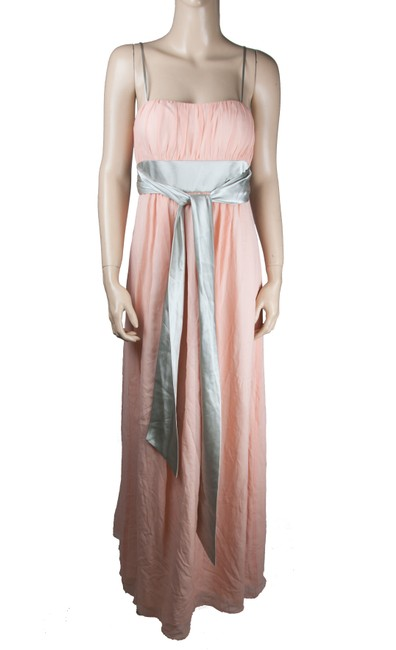 Preload https://img-static.tradesy.com/item/23720468/bcbg-paris-pink-silver-with-ribbon-tie-long-casual-maxi-dress-size-6-s-0-0-650-650.jpg