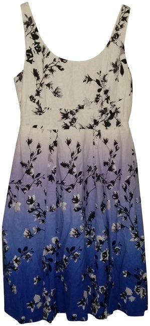 Preload https://img-static.tradesy.com/item/23720484/ivanka-trump-white-black-blue-purple-multi-floral-print-linen-summer-with-long-casual-maxi-dress-siz-0-1-650-650.jpg