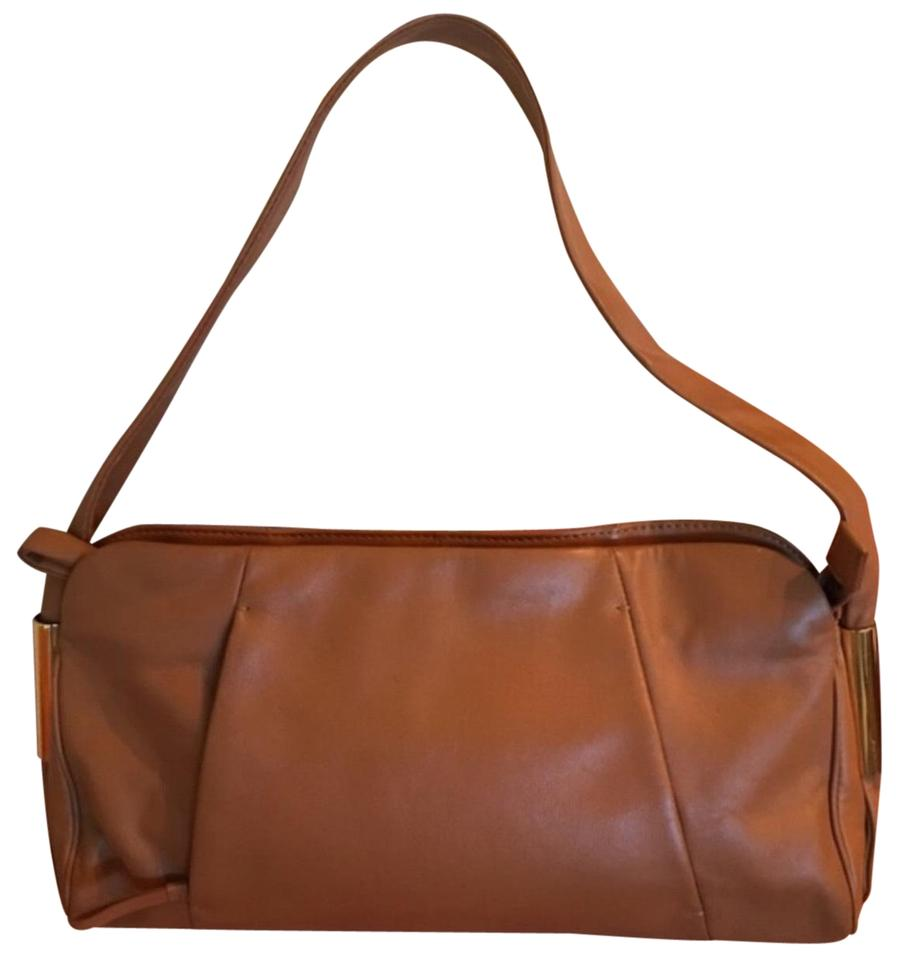 a889d0592e22 Alexandra Bartlett Hidden Pocket Camel Leather Hobo Bag - Tradesy