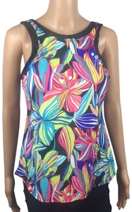 24th & Ocean Floral High Neck Padded Tankini