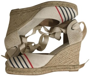 Soludos Natural with stripes Wedges