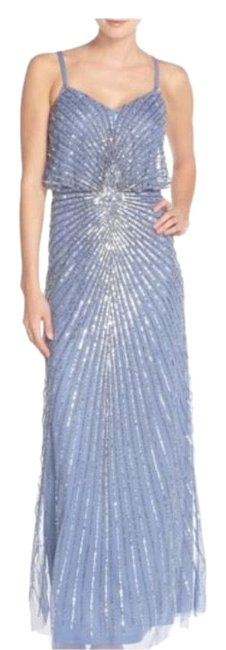 Preload https://img-static.tradesy.com/item/23720602/adrianna-papell-blue-091921890-embellished-blouson-gown-long-formal-dress-size-6-s-0-2-650-650.jpg