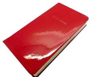 Tiffany & Co. Tiffany Red Patent Leather Love Notes Journal Notebook