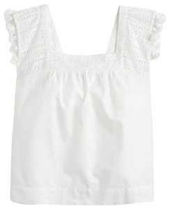 2dbaf3af305e2 White J.Crew Tops - Up to 70% off a Tradesy