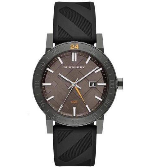 Preload https://img-static.tradesy.com/item/23720794/burberry-clearance-sale-gray-sport-with-black-rubber-band-watch-0-0-540-540.jpg