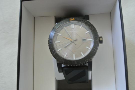 Burberry Clearance-SALE Gray Sport with Black Rubber Band Watch $700 Image 1