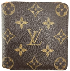 1746384345a4 Louis Vuitton Monogram Bifold Wallet classic bill card holder multi slots