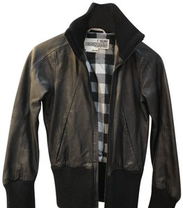 Rogan black Leather Jacket