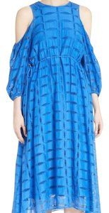 blue Maxi Dress by Tibi