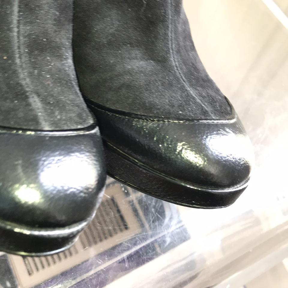 Black Cd Ankle Dior Boots Platform Booties Sa55RdqwU