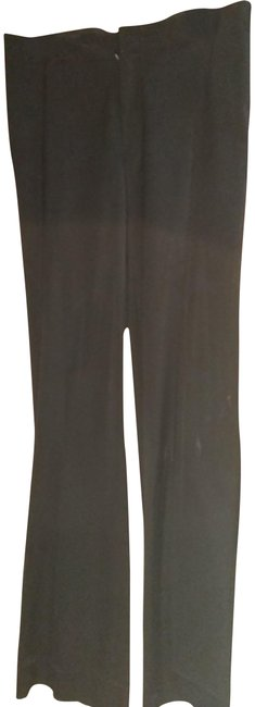 Item - Black 40 Made In Italy Slight Flared Pants Size 4 (S, 27)