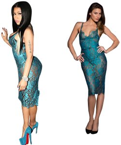 cheapest best value best price Blue Agent Provocateur Dresses - Up to 70% off a Tradesy