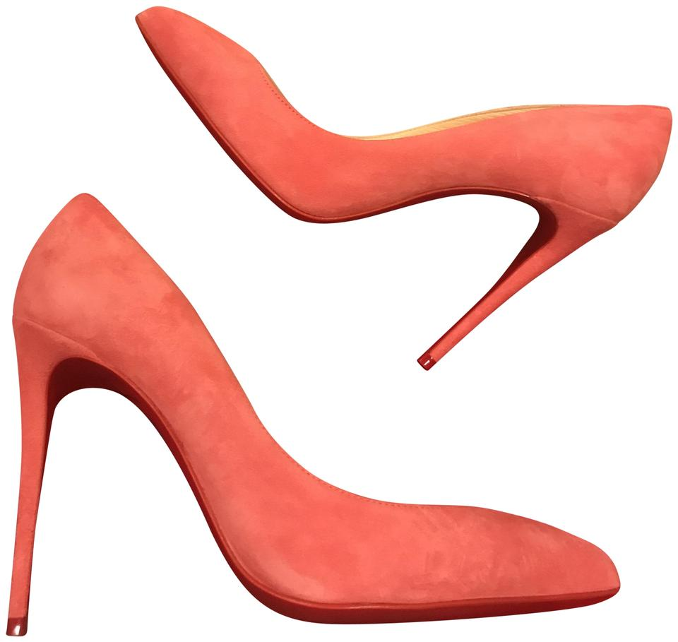 the latest 737be 19e8f Christian Louboutin Begonia (Pink) Pigalle Follies 100 Suede Pumps Size EU  40 (Approx. US 10) Regular (M, B) 19% off retail