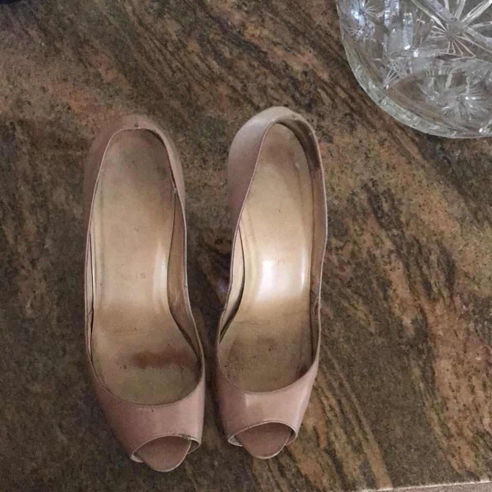 d936714a8ca Very Prive Christian Louboutin Nude Platforms 100 8wq0R40x ...