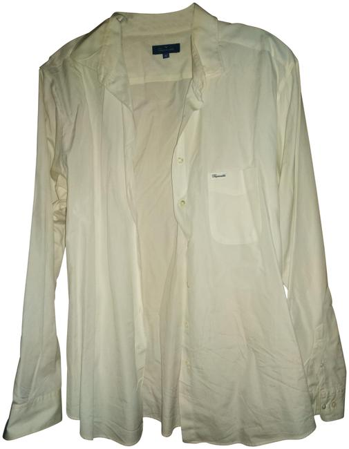Item - White XL Made In France Shirt Button-down Top Size 16 (XL, Plus 0x)