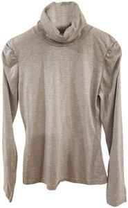 Motivi Designer Turtleneck Vintage And Silver Sweater