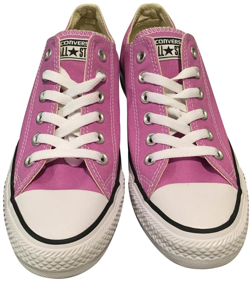 f98f2365c633 Converse Fuchsia Chuck Taylor All Star Low Top Sneakers Sneakers ...