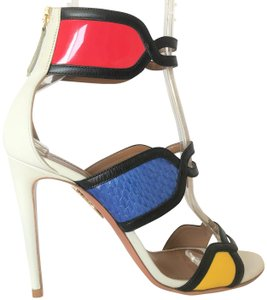 Aquazzura Pump Heel Lady Multi Color Sandals