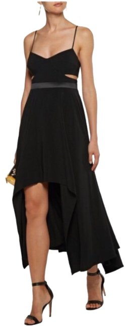 Preload https://img-static.tradesy.com/item/23722973/halston-black-ubc151762c-cutout-washed-crepe-mid-length-formal-dress-size-10-m-0-1-650-650.jpg
