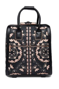 Ted Baker Carry On Suitcase Queen Rolling Wheel Black Travel Bag