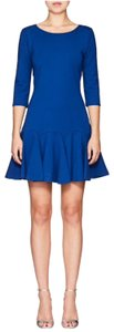 Halston short dress Cobalt on Tradesy