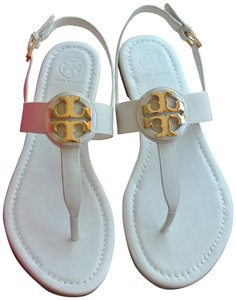 4c4eb043cd6a29 White Tory Burch Sandals - Up to 90% off at Tradesy (Page 2)