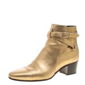 A. Lange & Söhne Leather Gold Boots