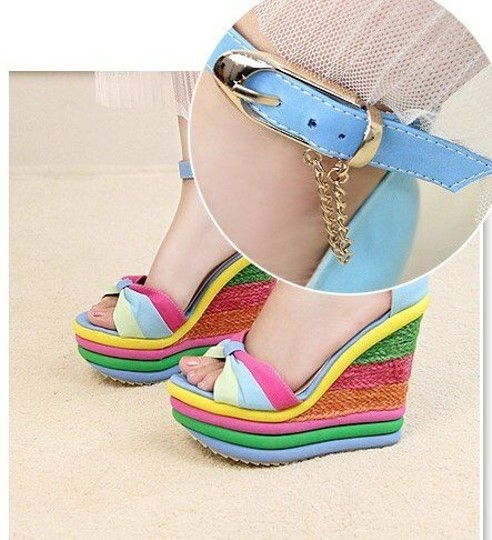 Other Rainbow Wedges Image 1