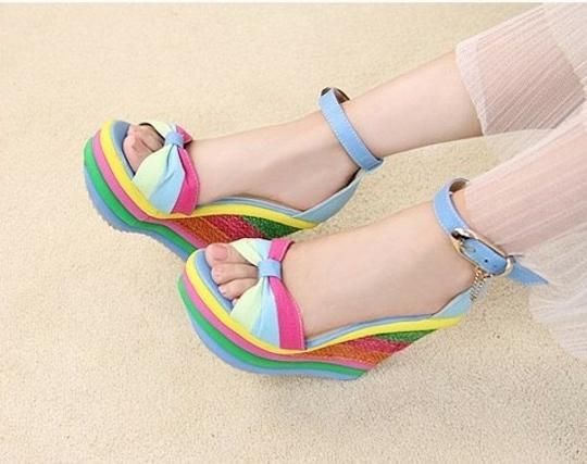Other Rainbow Wedges Image 2