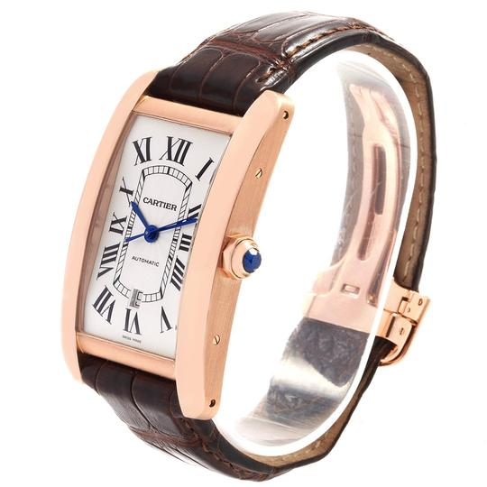 Cartier Cartier Tank Americaine Rose Gold Automatic Mens Watch W2609856