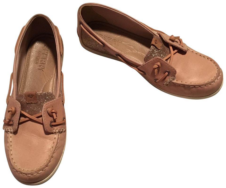 23da0aee8692 Sperry Rose Sparkle Coil Ivy Boat Flats Size US 6.5 Regular (M, B ...