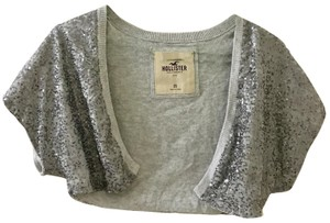 Hollister Sequin Sparkle Viscose Cotton Sweater