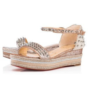 separation shoes 8915a 93c2d Christian Louboutin Wedges - Up to 90% off at Tradesy