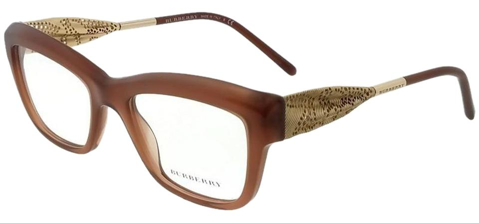 c8ca3cbc4ff Burberry BE2211-3173-53 Gabardine Lace Women s Brown Frame Eyeglasses Image  0 ...