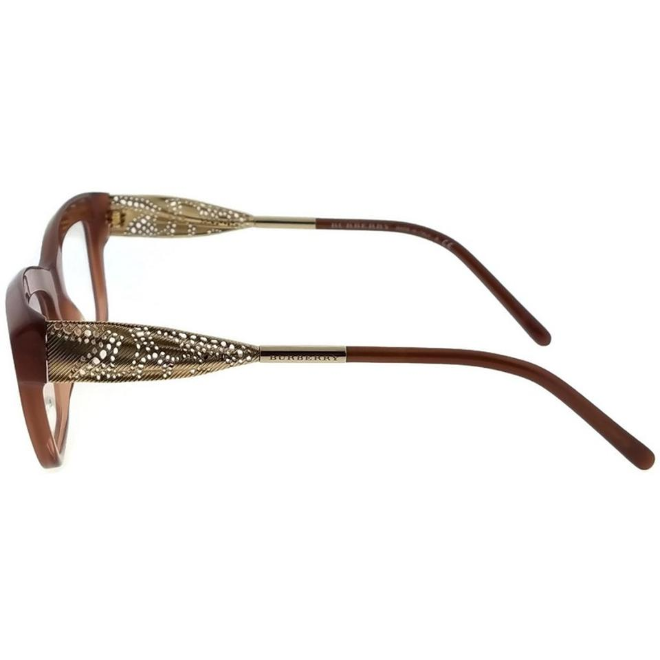 42ae42f382 Burberry Be2211-3173-53 Gabardine Lace Women s Brown Frame ...