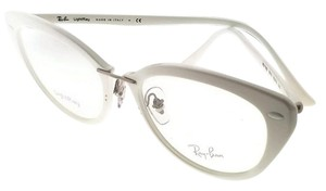 Ray-Ban RX7088-5618-52 Women's White Frame Clear Lens Eyeglasses