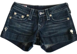 True Religion Denim Shorts-Light Wash