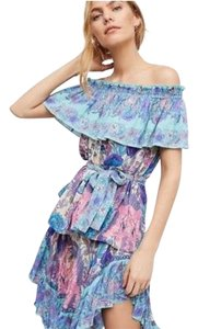 Spell & the Gypsy Collective Top Blue, white & purple