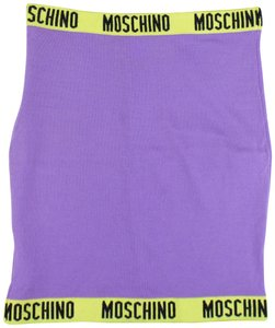 Moschino Mini Skirt Purple