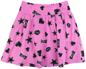Moschino Mini Skirt Pink/Black