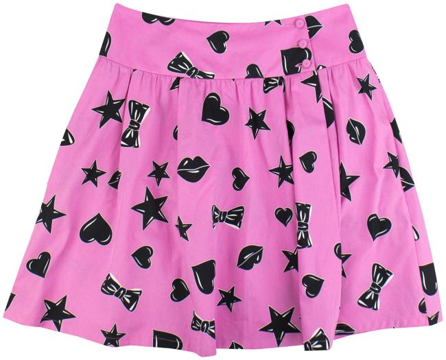 Preload https://img-static.tradesy.com/item/23724831/moschino-pinkblack-couture-x-jeremy-scott-stars-hearts-bow-ties-miniskirt-size-8-m-29-30-0-1-650-650.jpg