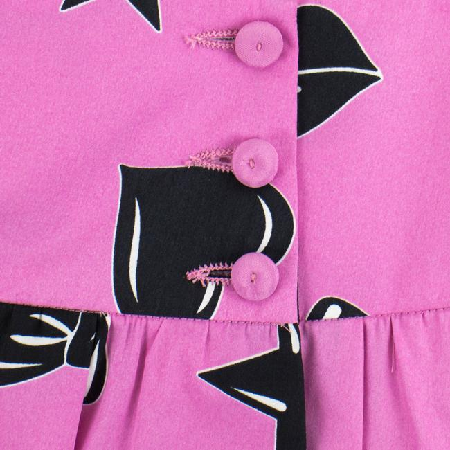 Moschino Mini Skirt Pink/Black Image 2