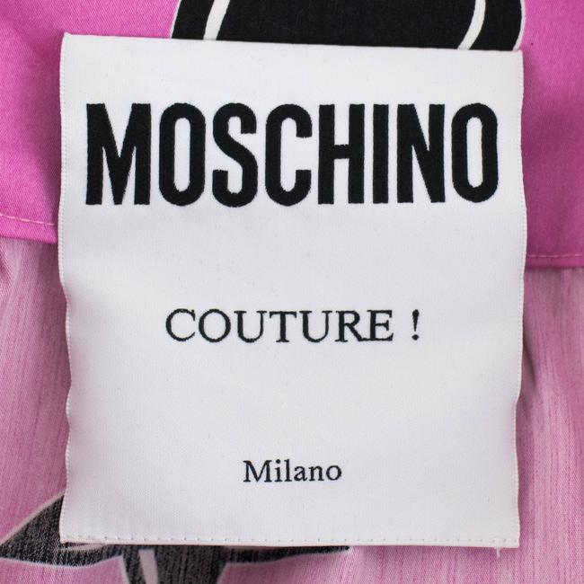 Moschino Mini Skirt Pink/Black Image 4
