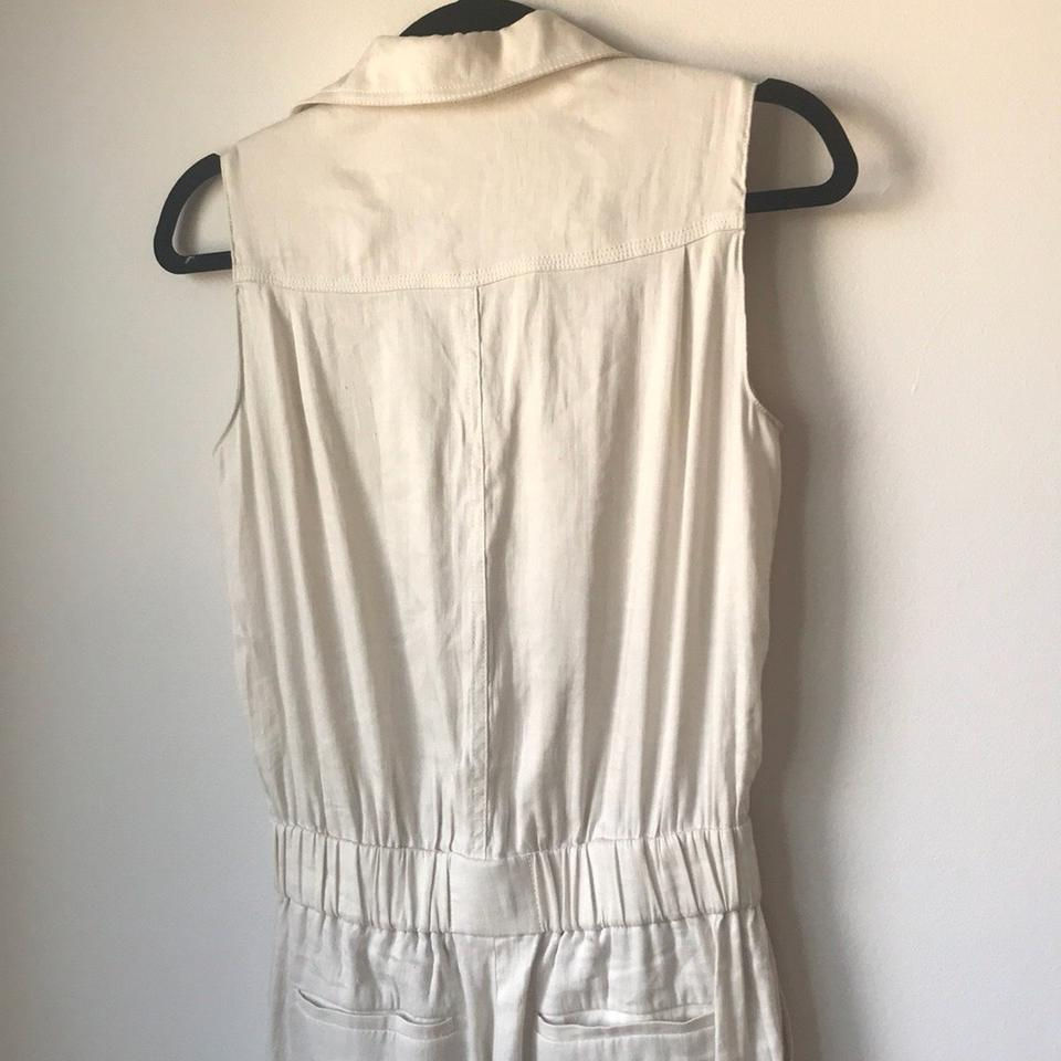 a828a349d3b8 Vince Ivory Utility Belted Romper Jumpsuit 51% off retail