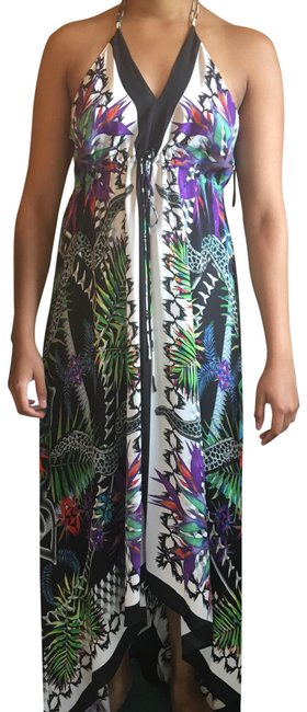 Item - Multi Colored Beach Long Night Out Dress Size 10 (M)
