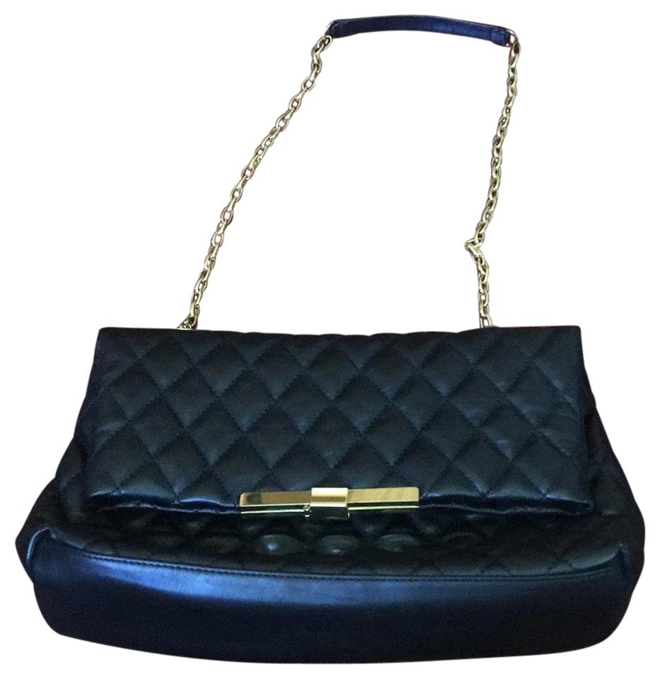 Zara Quilted Chanel Look Alike Black Leather Shoulder Bag - Tradesy 7ba3013c33