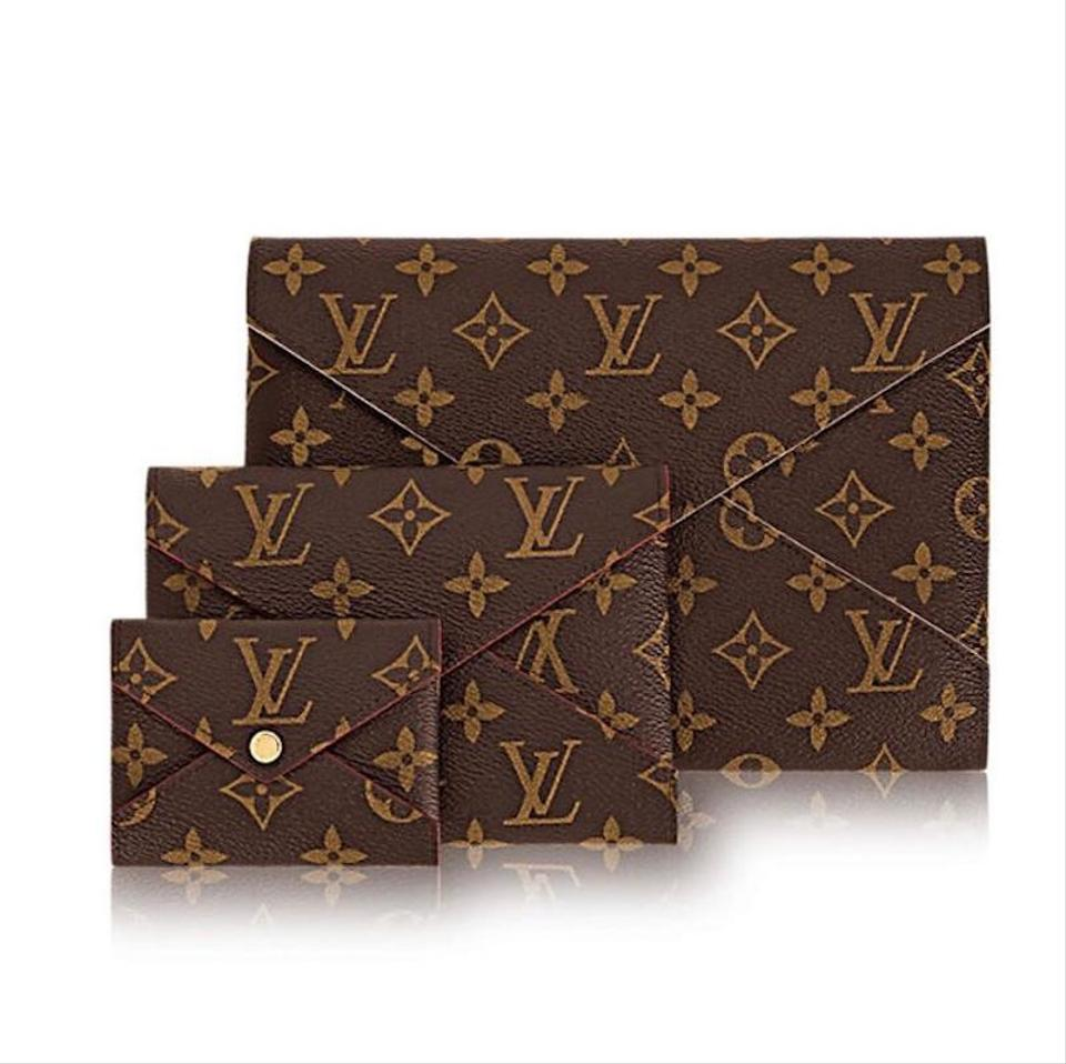 92b115a528ce Louis Vuitton New 3 Pc Set Pouch Box Monogram Pink Red Lv Coated Canvas  Clutch - Tradesy