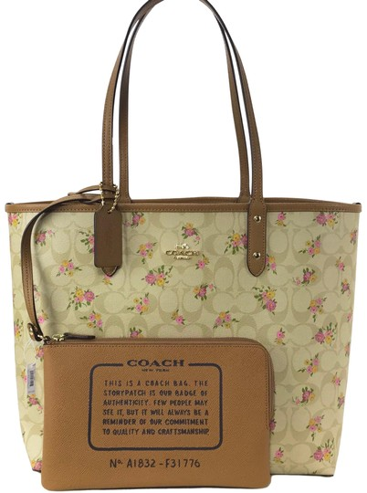 Preload https://img-static.tradesy.com/item/23726424/coach-city-reversible-daisy-bundle-multicolor-coated-canvas-tote-0-1-540-540.jpg